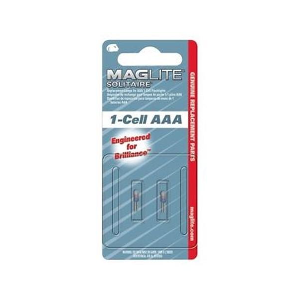 MagLite - Rezervna žarulja za Solitaire 1 AAA - 2 kom