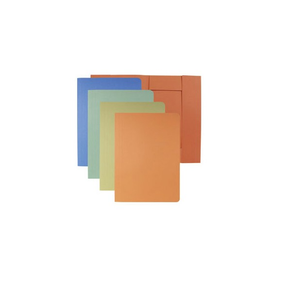 Fascikl 3 klapne prešpan karton A4 Fornax plavi