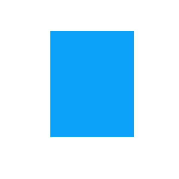 Hamer papir A4, 160g. Svijetlo plavi