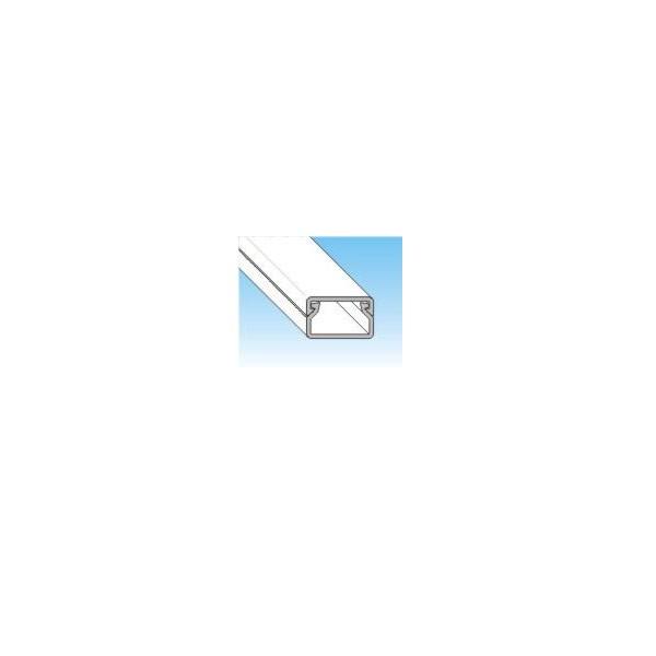 KANALICA PVC BIJELA S POKLOPCEM 15mm x 10mm x 2m