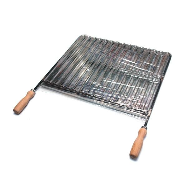 Rešetka za roštilj inox 51cm x 42.5cm