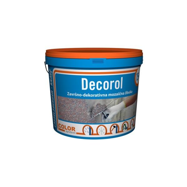 DECOROL - Završno-dekorativna mozaična žbuka - 15 kg