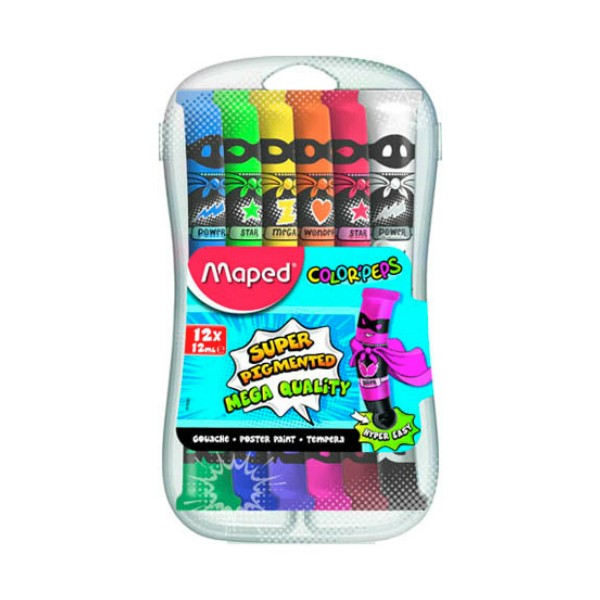 MAPED Color'peps - Tempere - 12x12ml