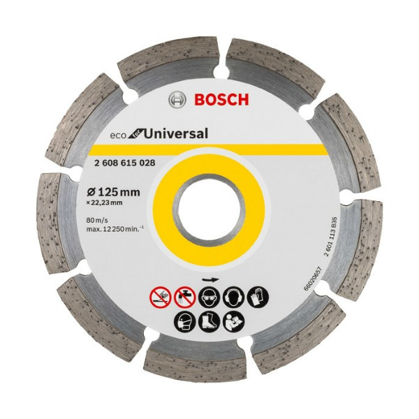 BOSCH - Dijamantna rezna ploča - Ø 125 x 22,23 mm - 2608615028