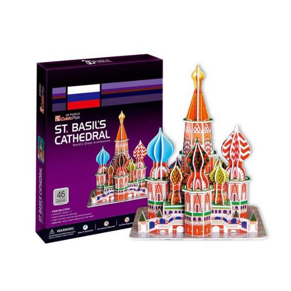 MEHANO - 3D Slagalica - St. Basils Cathedral