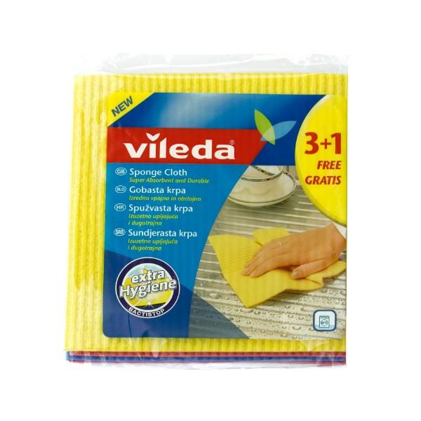 VILEDA - Spužvasta krpa 4/1 - 3+1 GRATIS