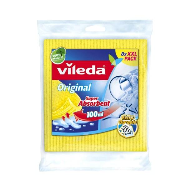 VILEDA - XXL pack - Spužvasta krpa 6/1 - 8+2 GRATIS