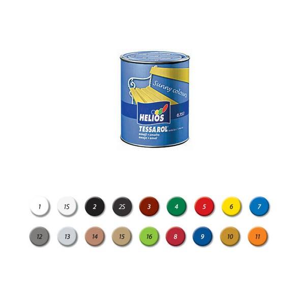 Tessarol emajl 0.75L žuti, boja-10