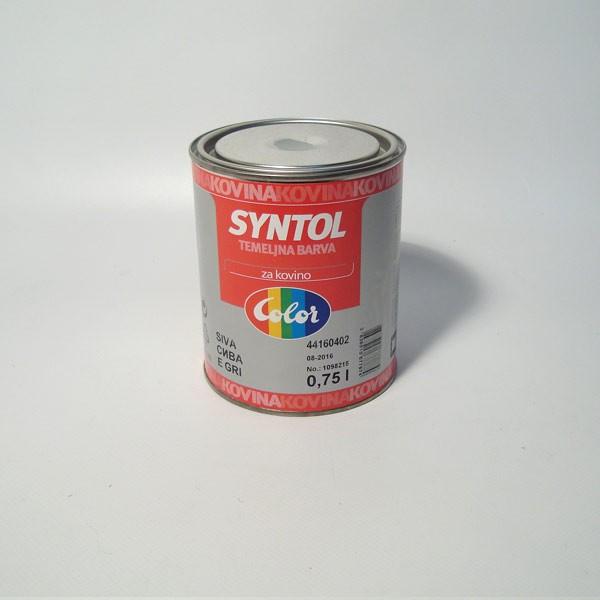 Syntol boja za metal zelena 0.75L