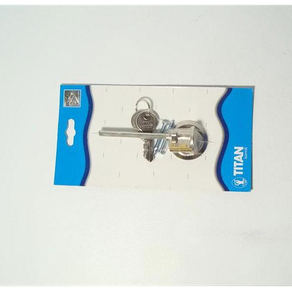 Bravica cilindar s 3 ključa 32mm Titan