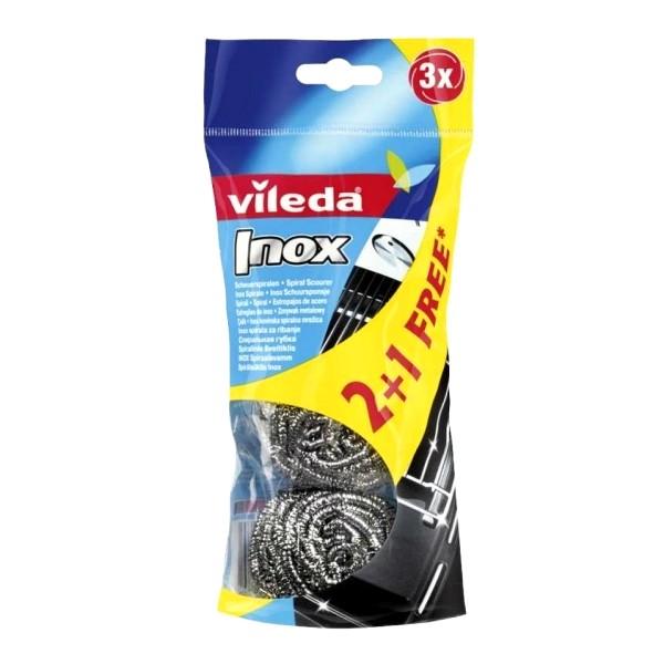 VILEDA Glitzi - Inox spirala za ribanje - 2+1 FREE