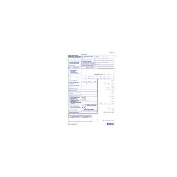 Tiskanica M-3P, Prijava o promjeni tijekom osiguranja