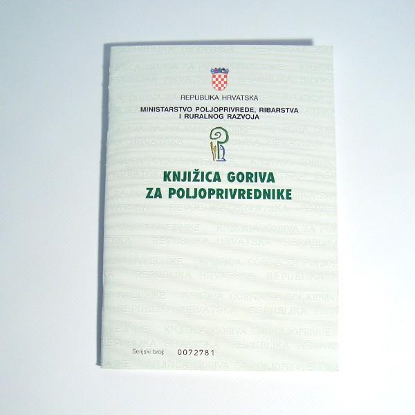 Knjižica goriva za poljoprivrednike
