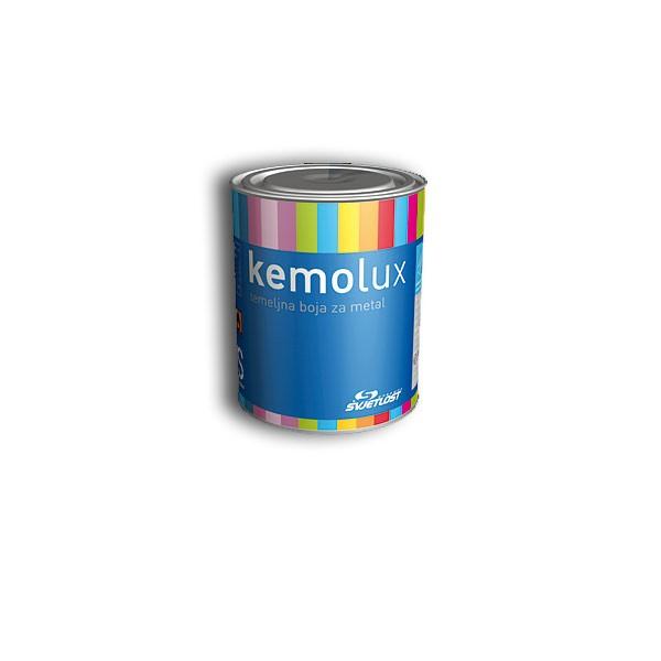 KEMOLUX Temeljna ANTIKOROZIVNA boja za metal  0.2L CRVENA