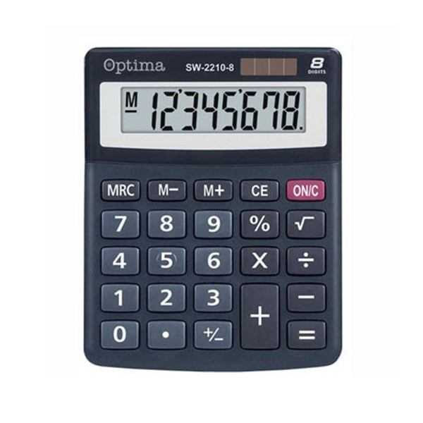 Kalkulator OPTIMA SW-2210-8A mali 8 mjesta P60
