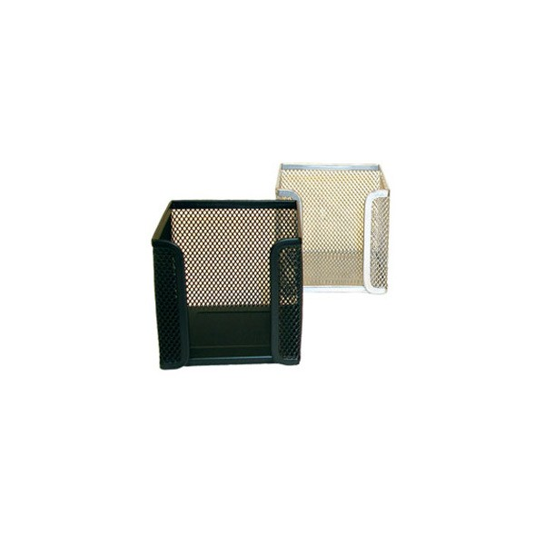 Blok kocka žica 9,5x9,5x9,5cm crna