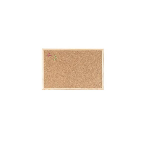 Ploča pluto 40x60cm jednostrana drveni okvir