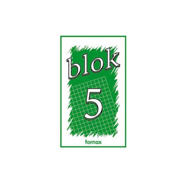 Blok za bilješke 100x170mm 50L br.5 Fornax