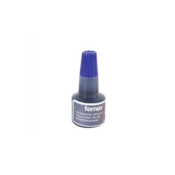 Tinta (boja) za pečate 30ml Fornax plava