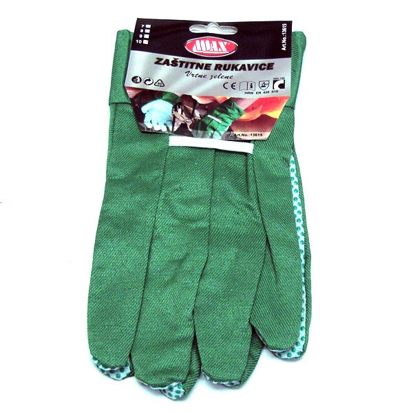 Zaštitne rukavice vrtne zelene V:10