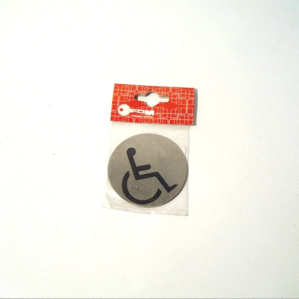 Pločica okrugla metalna Ø7cm