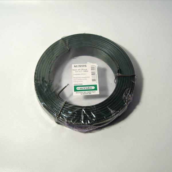 Žica plastificirana 2/2,7mm, 100m