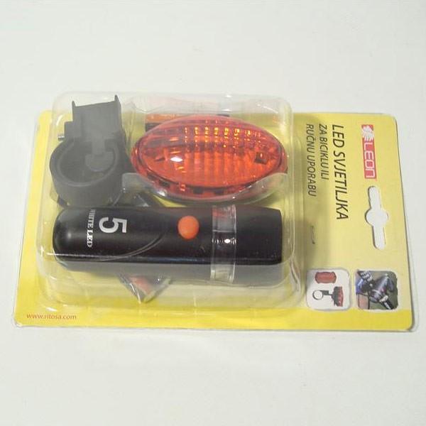 LED svjetlo za bicikl, prednje i stražnje