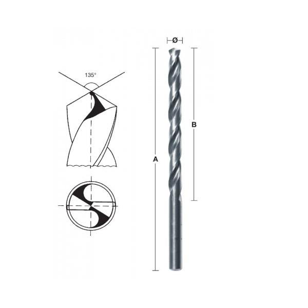 HSS-G Milwaukee thunderweb svrdlo za metal  11x142 mm
