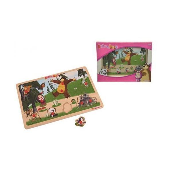 Maša i medvjed magnetne puzzle