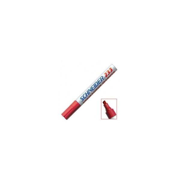 SCHNEIDER 233 crveni, debljina linije 1-5mm