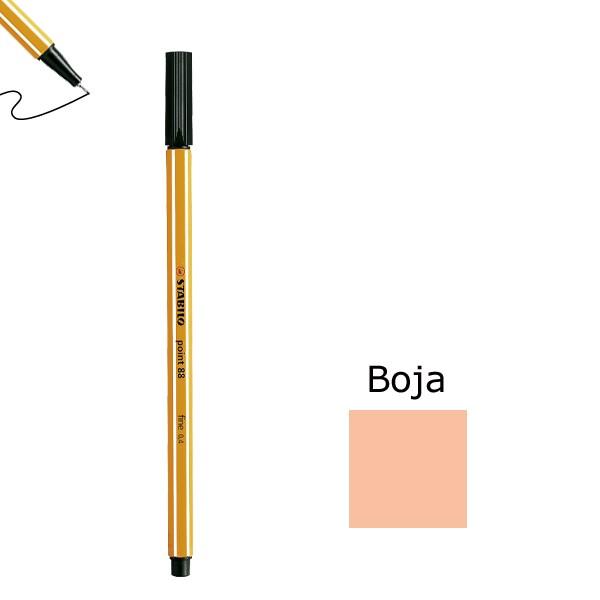 Flomaster STABILO point 88 debljine 0,4  boja breskve