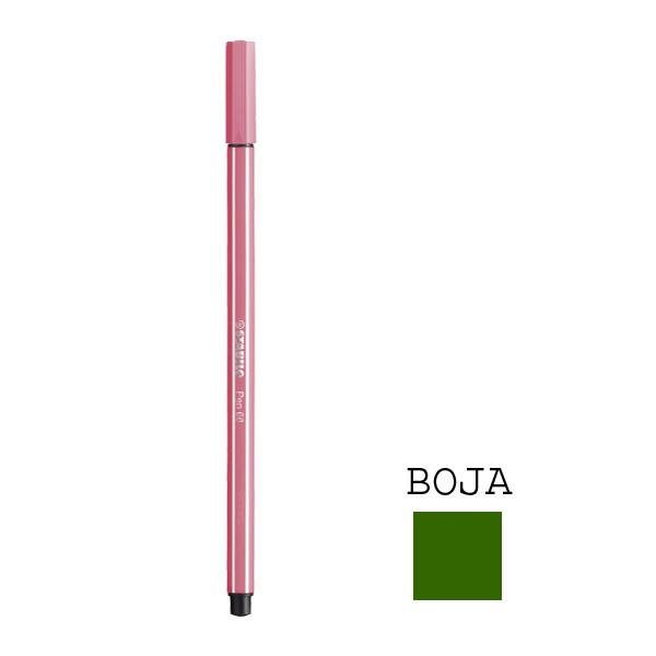 Stabilo flomaster Pen 68, tamno zeleni, 0.8mm