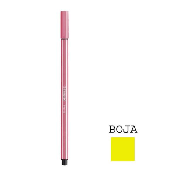 Stabilo flomaster Pen 68, tamno žuti, 0.8mm