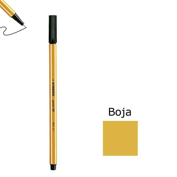 Flomaster STABILO point 88 debljine 0,4  svjetlo smeđi