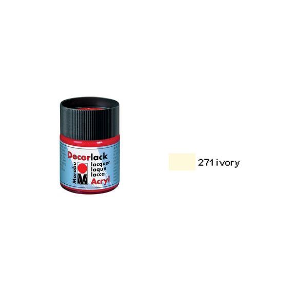 Akrilna boja, Decor Lack, Marabu 50ml