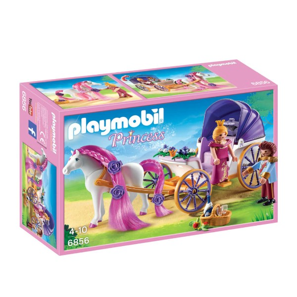 PLAYMOBIL - Royal Couple with Carriage