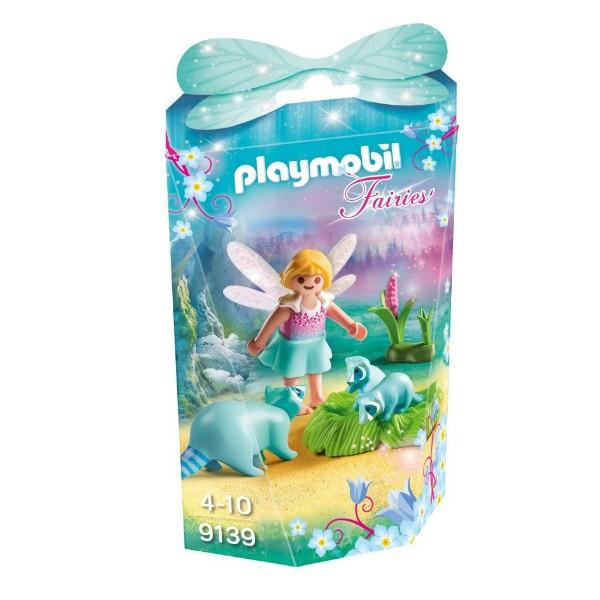 PLAYMOBIL Fairies - Fairy Girl with Racoons