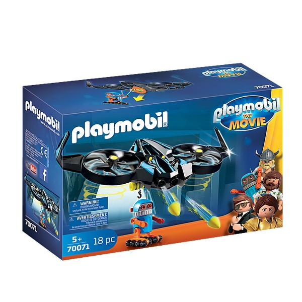 PLAYMOBIL: The Movie - Robotitron with Drone