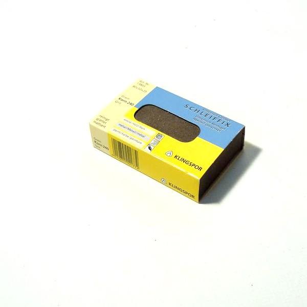 Brusna guma 80x50x20mm, granulacija 240