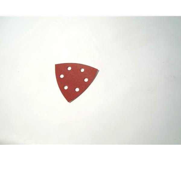 Brusni papir čičak trokut 95x95mm granulacija: 80