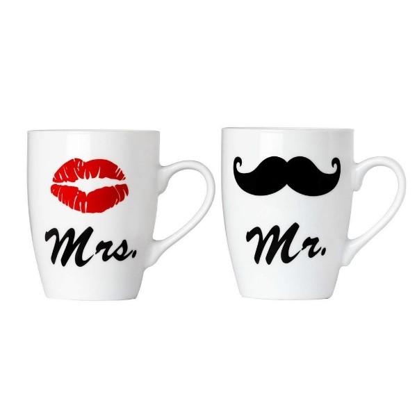 Set šalica - Mr. & Mrs.