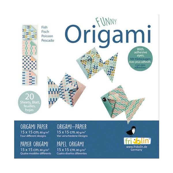 FUNNY ORIGAMI - 15x15 - Riba