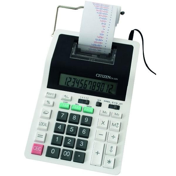 Kalkulator CITIZEN CX-32N, 12 znamenaka