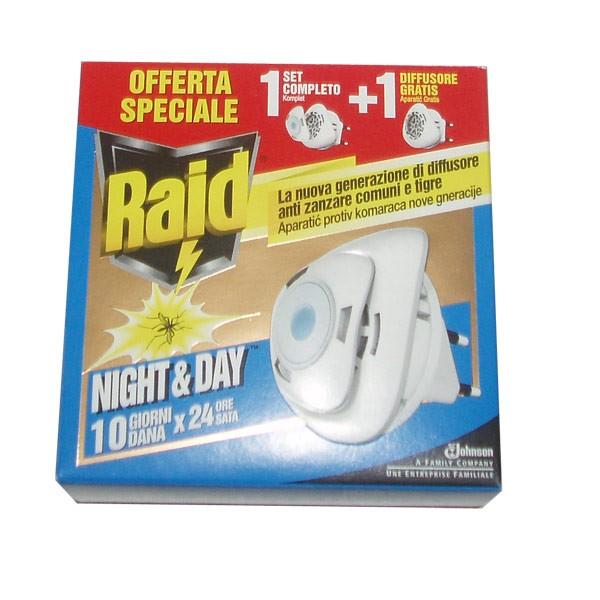 RAID ELEKTRIČNI APARAT PROTIV KOMARACA I MUHA DAY&NIGHT