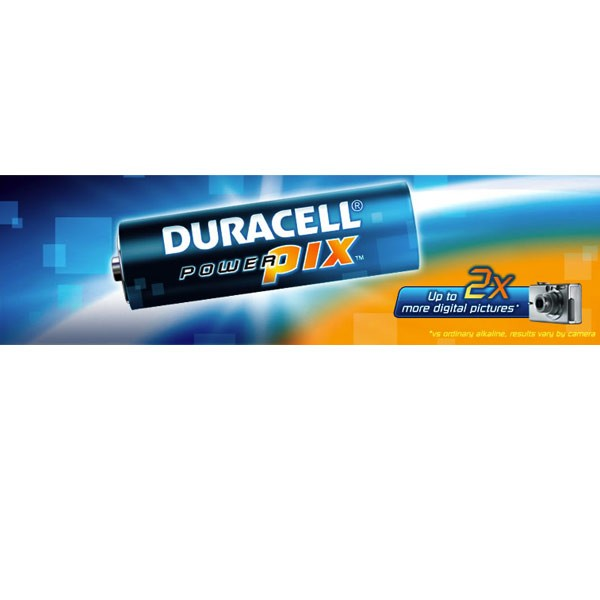 DURACELL PowerPix AA BATERIJA 4 KOMADA