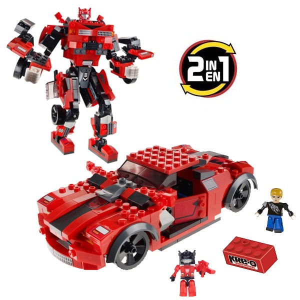 Kre-o Transformers Sideswipe 2u1 220kom