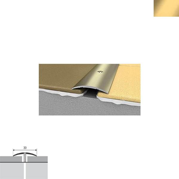Aluminijska lajsna prijelazna 90cmx28mm zlatna