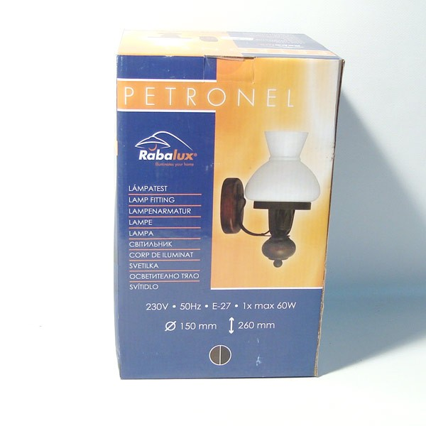 Vanjska lampa 150x260mm E27 60W