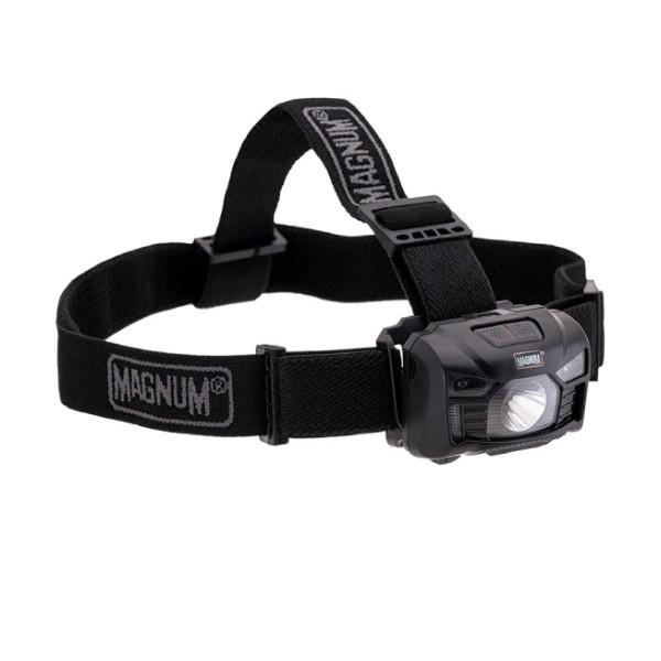 Magnum Trooper - Naglavna svjetiljka - One size - Dark Grey / Black