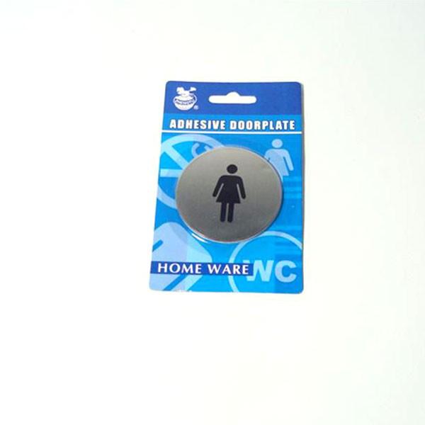 WC pločica za ženski WC, 65mm